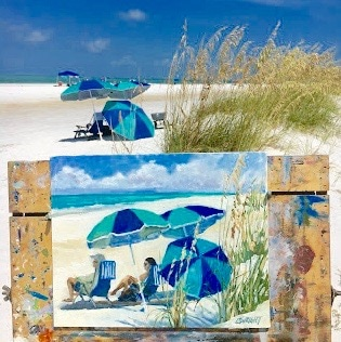 Cory Wright Beach Art