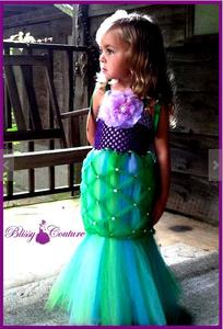 Girl Mermaid Costume