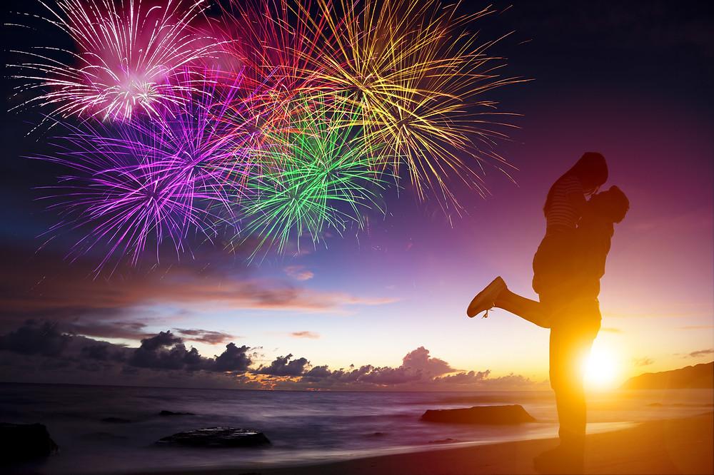 Fireworks on Anna Maria Island 2018