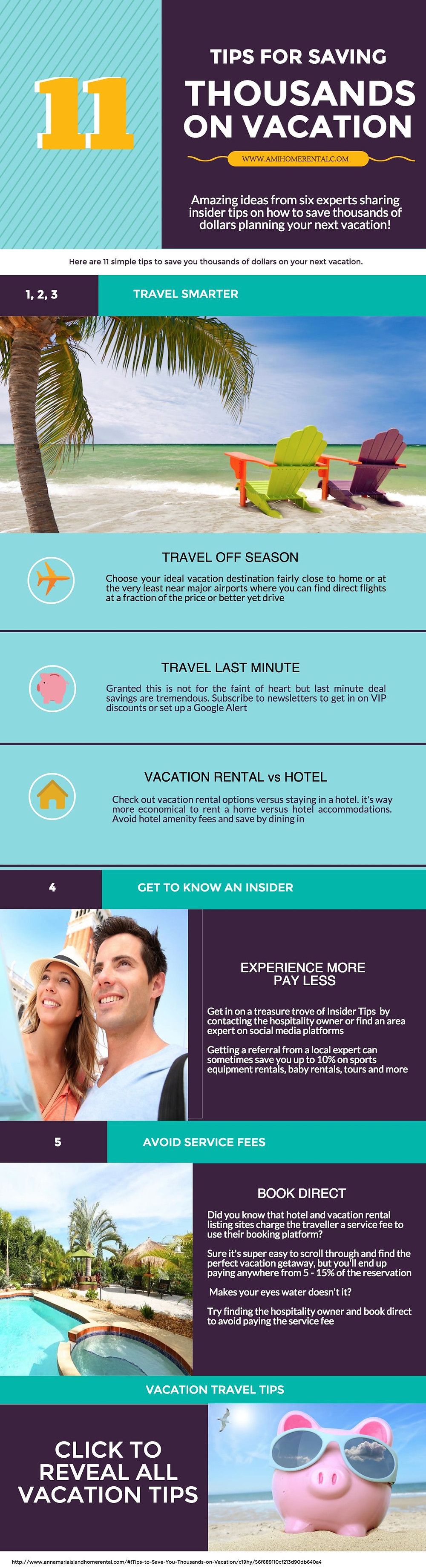 11 Tips to Save Money on Vacation