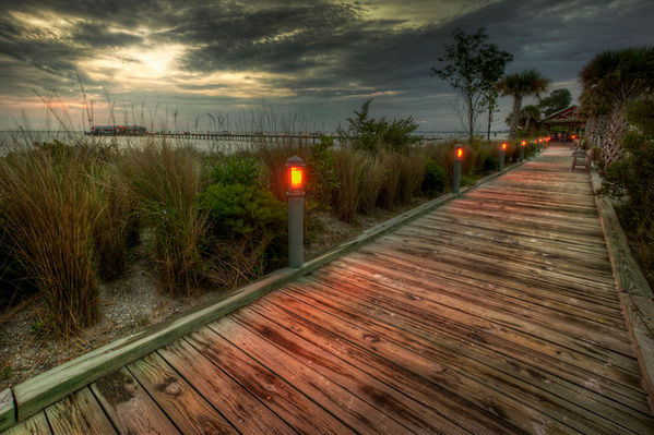 Boardwalk to Anna Maria Island City Pier