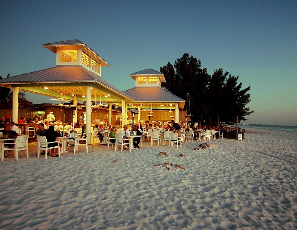 The Sandbar Restaurant on Anna Maria Beach