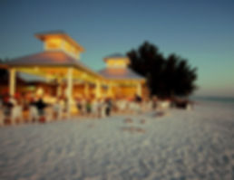Sandbar Restaurant on the beach on Anna Maria Island