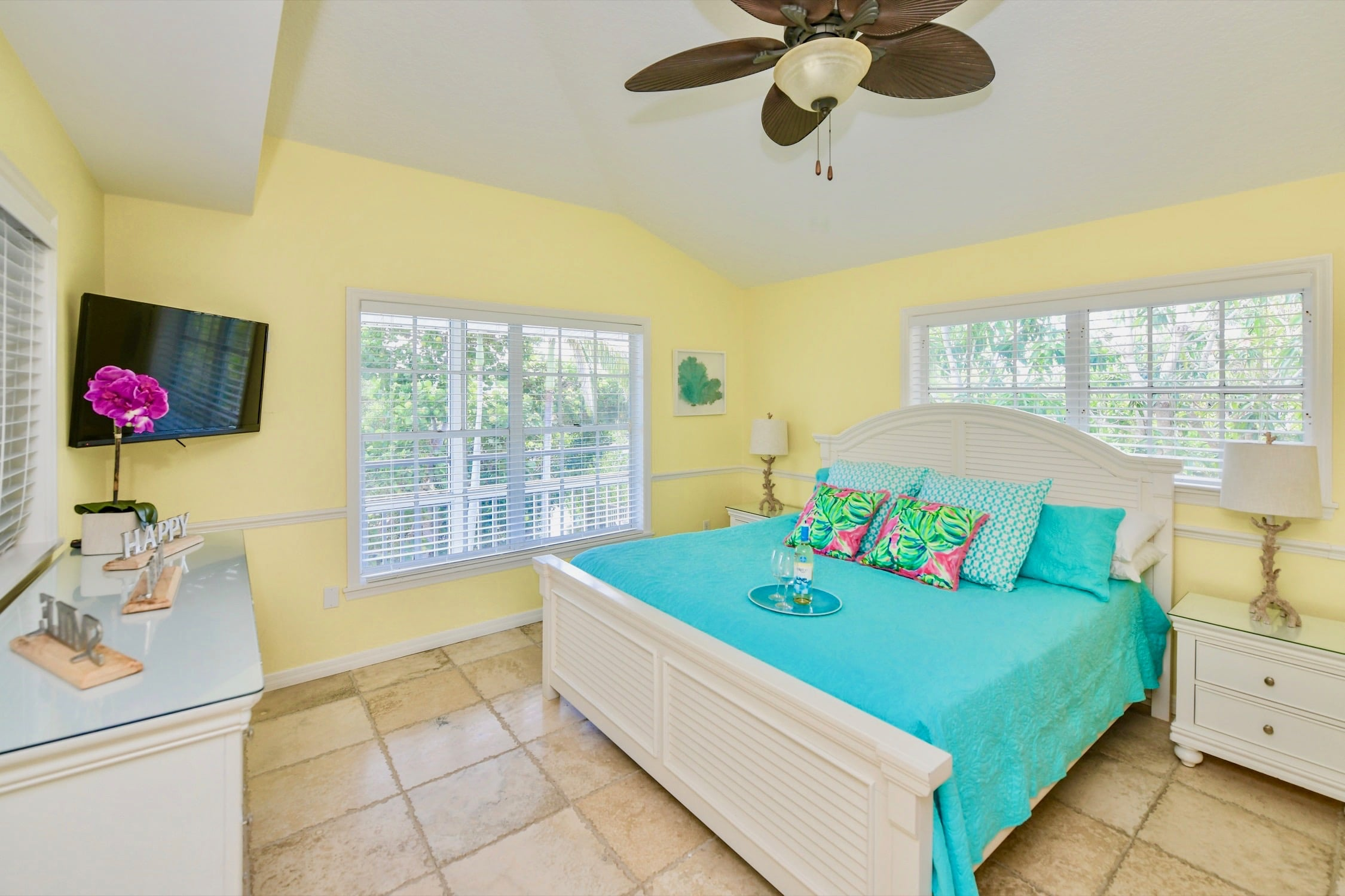 Sirenia Cove Yellow Master Bedroom
