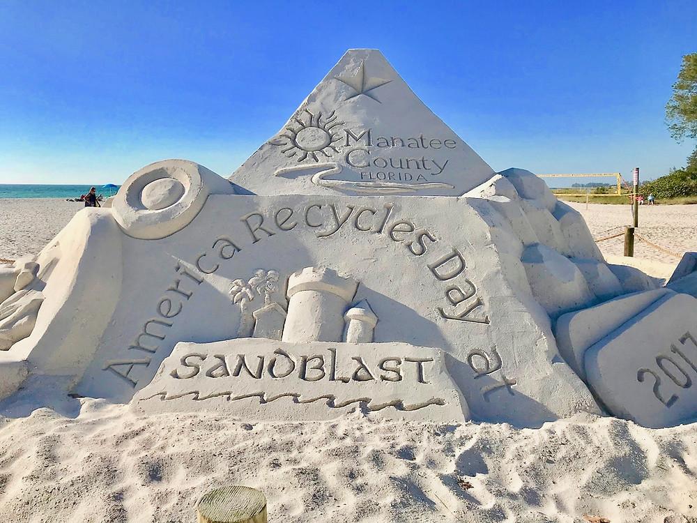 Sandblast Sand Sculptures - Fall Events Anna Maria Island Florida