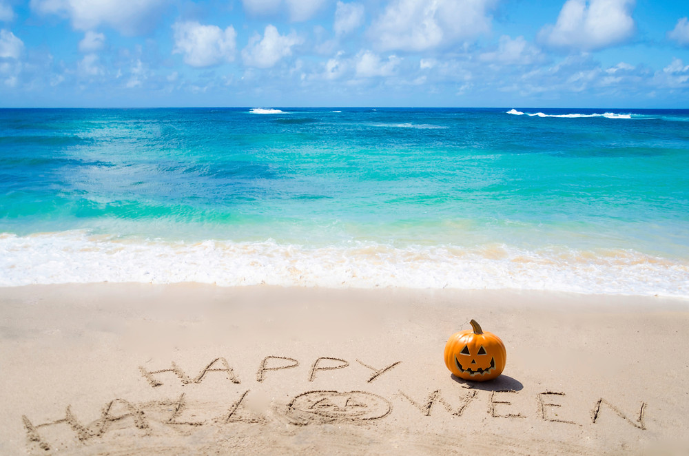 Happy Halloween - Beach