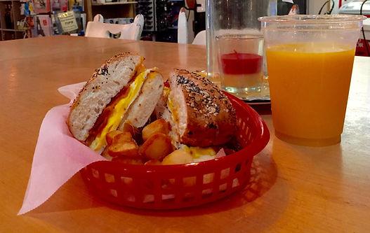 Ginny  & Jane E's Breakfast Sandwich