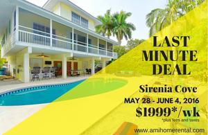 Sirenia Cove - Last Minute Deal