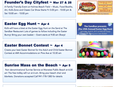 Insider's Guide to Spring Events on Anna Maria Island