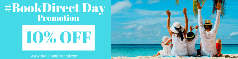 #BookDirect Day Promotion Special Offer - Anna Maria Island Home Rental