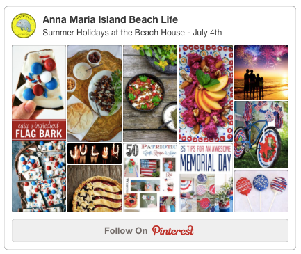 Anna Maria Island, Florida Pinterest Summer Holiday Board