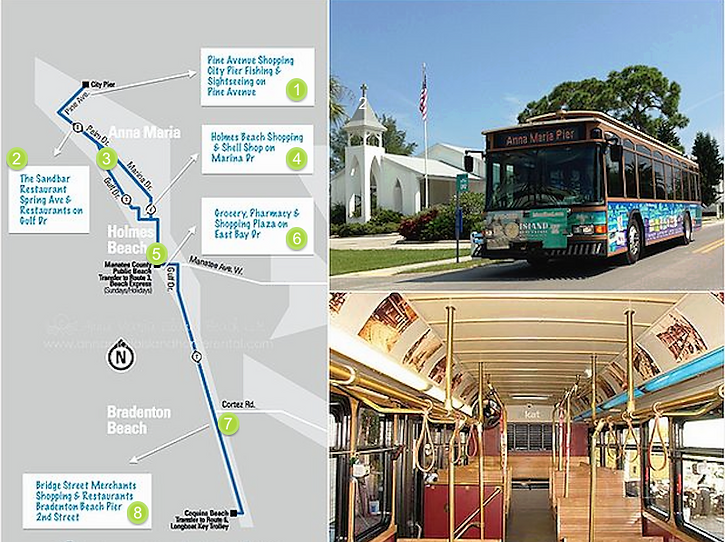 Insider Guide to the Free Trolley on Anna Maria Island, Florida