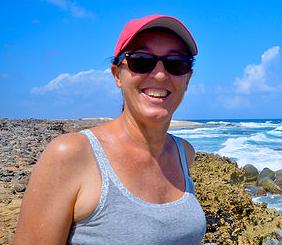 Linda Lou Huiskies - Villa Seashell Owner