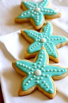 coastal christmas cookies