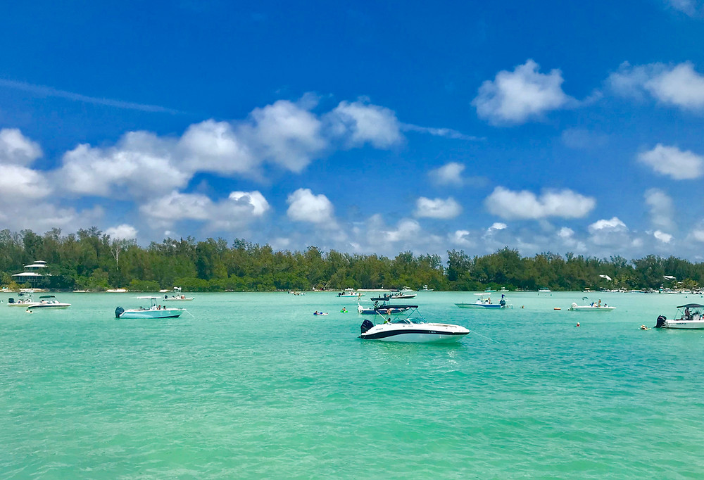 boat, ocean, anna maria island, turquoise, social, distancing