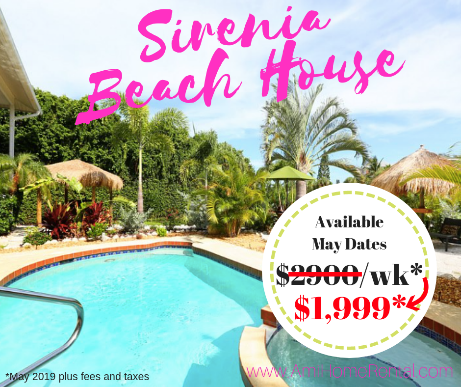 Sirenia Beach House - May 2019 Special Deal Vacation Rental