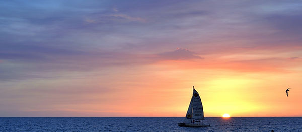 Boating, Sunset, Anna Maria Island, Florida, Gulf of Mexico