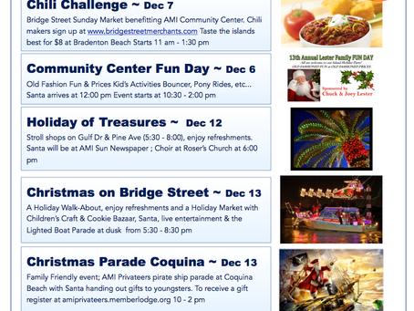 December 2014 Events ~ Anna Maria Island