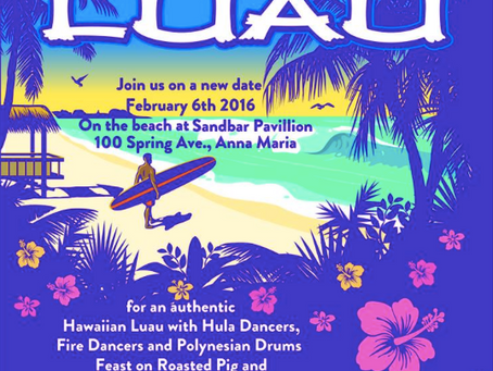 Hawaiian Luau on Anna Maria Island