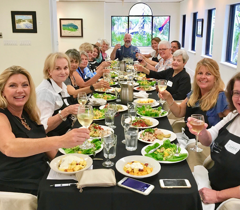 Culinary Cooking Class at The Studio on Pine Anna Maria island, Florida