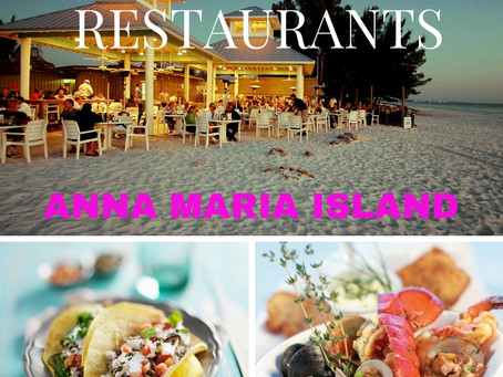 Top 10:  Best Restaurants - Anna Maria Island INSIDER'S GUIDE