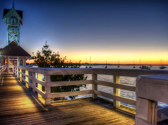 Bridge Street Pier on Anna Maria Island, Florida