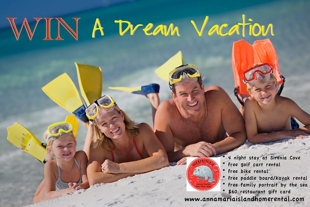 Anna Maria Island Beach Life Vacation Giveaway