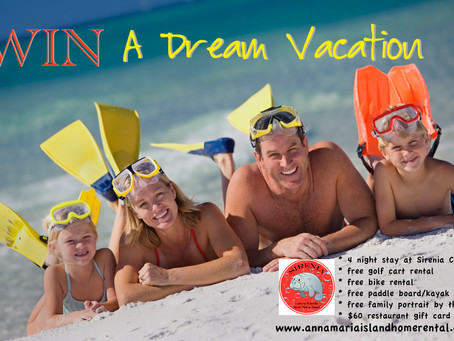 Enter for your Chance to Win a Vacation Package!