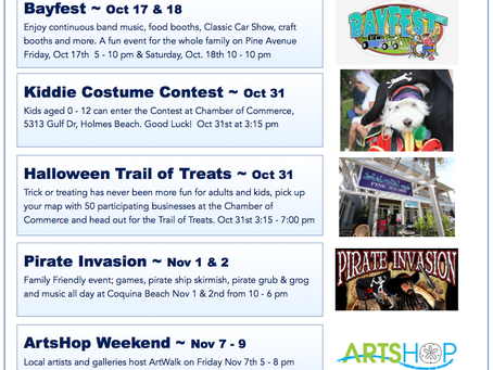 Fall Events 2014 ~ Anna Maria Island