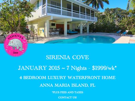 Anna Maria Island Last Minute Vacation Deals - January 2015