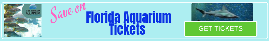 Buy Tickets to Tampa's Florida Aquarium.