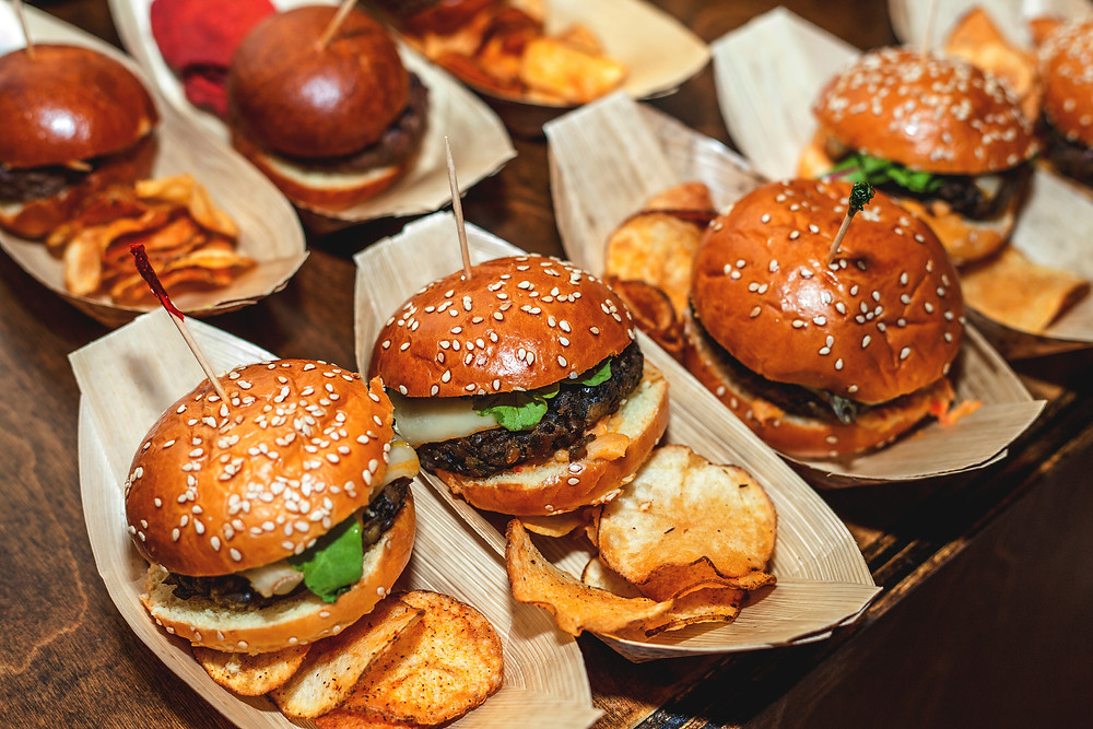 Burger Sliders - Festival Food