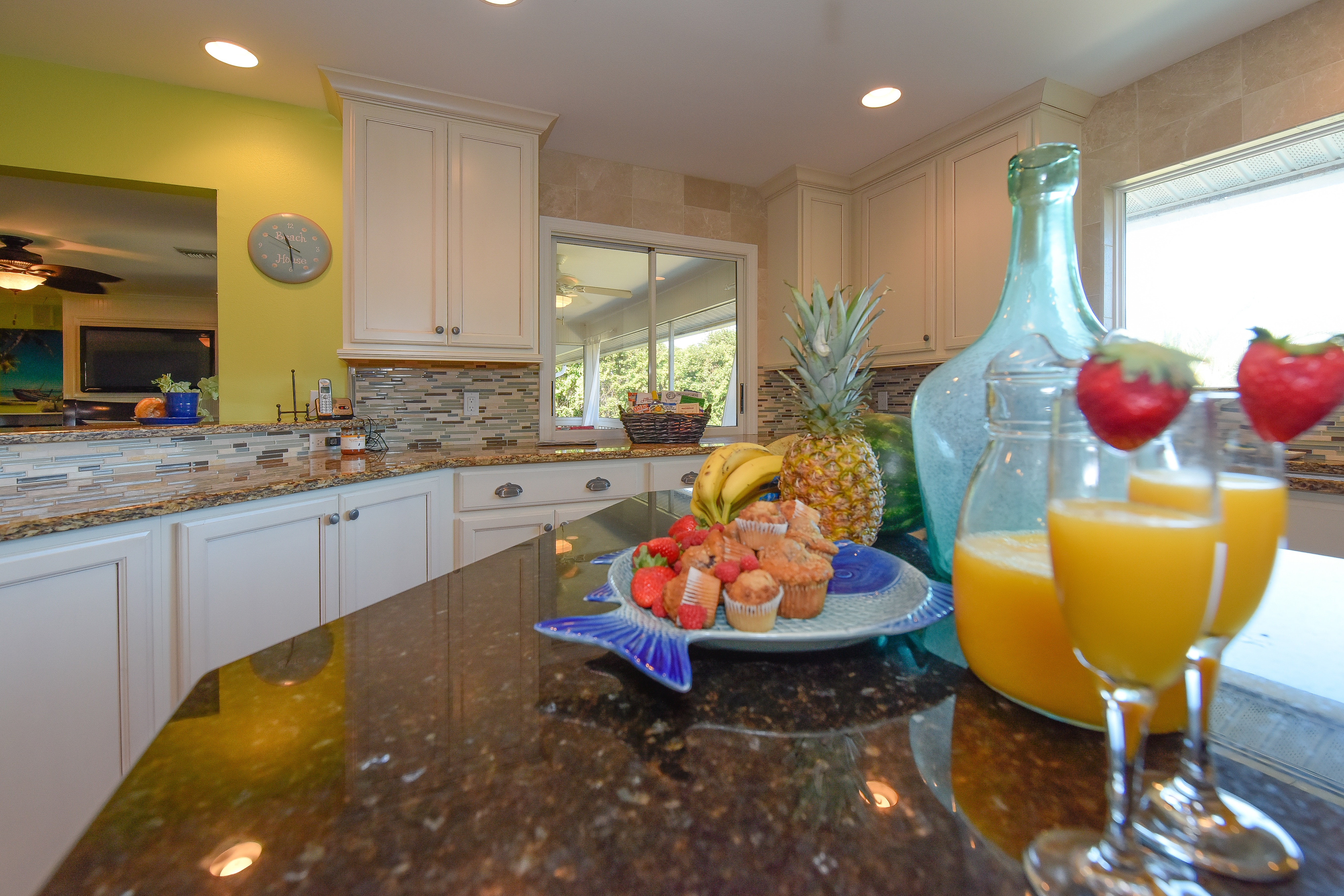 Sirenia Beach House Kitchen