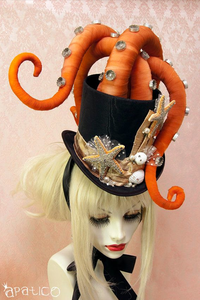 Sea Creature - Octopus Hat for Halloween