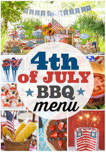 July 4th BBQ menu