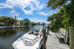 Sirenia Cove Dock and Boat