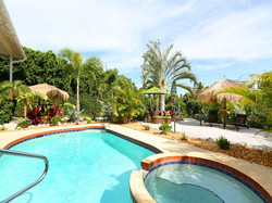 Sirenia Beach House Poolside