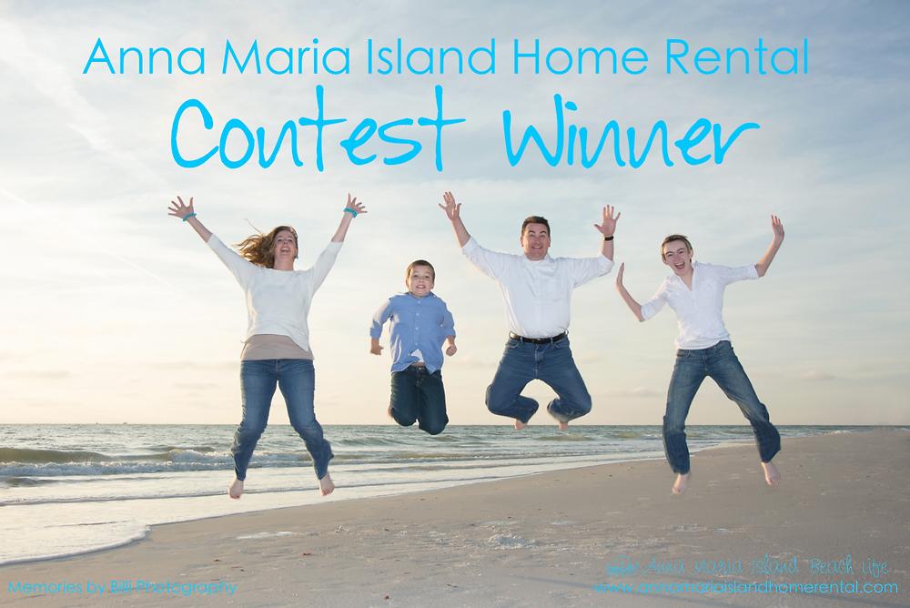 Anna Maria Island Home Rental Contest Winners