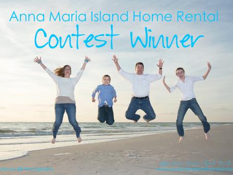 Anna Maria Island Contest Winner!