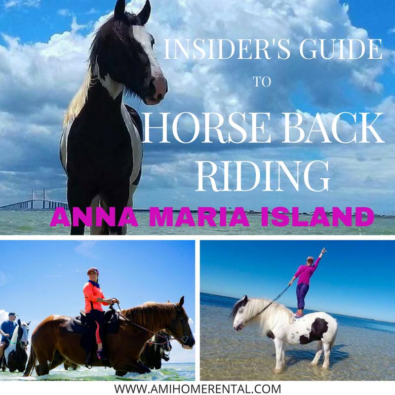 Insider's Guide to Horseback Riding ~ Anna Maria Island