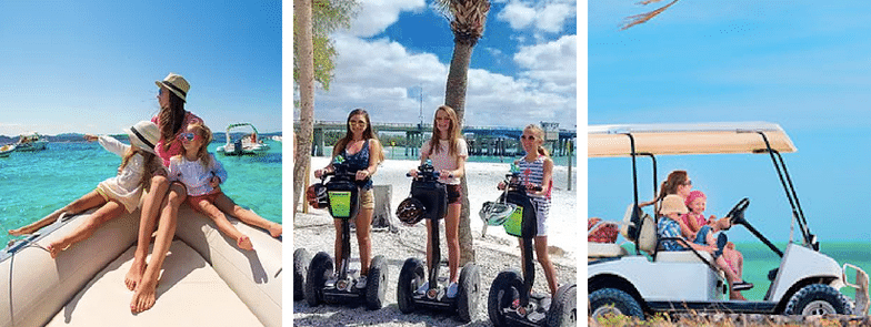101 Things to Do on Anna Maria Island, Florida - Boating, Segways, Golf Cart