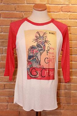 """""""Crazy Cat Lady Quilt"""" Raglan"""