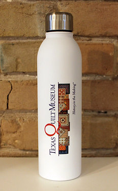 Texas Quilt Museum Stainless Steel Reusable Water Bottle