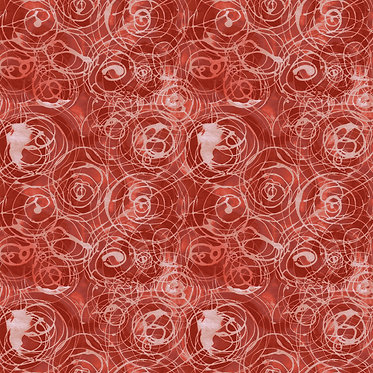 Color Labyrinth: Rain Drops Red