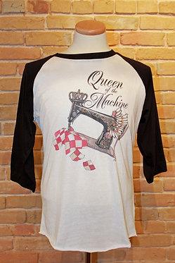 """""""Queen of the Machine"""" Raglan"""