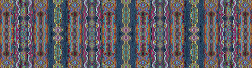 More is More: Stripeadelic Blue Print