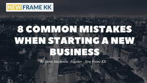 8 Common Mistakes when Starting a New Business