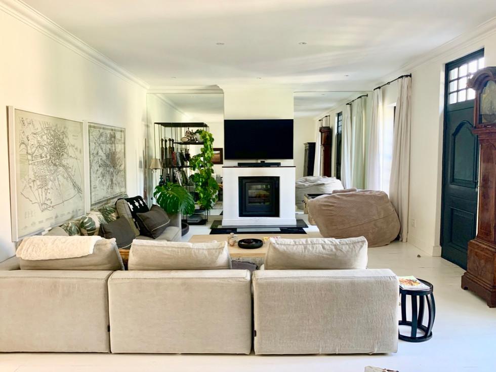 family TV room design