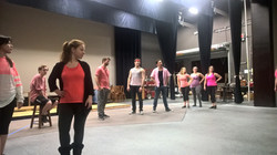 Grease Dance Rehearsal