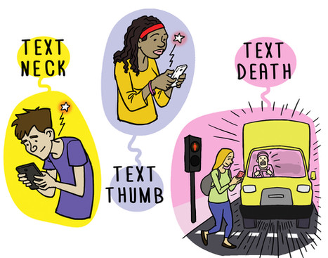 Teens and technology.